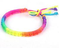Cheap Charm Bracelets cord barcelet Best fashion women and children nylon rope bracelet