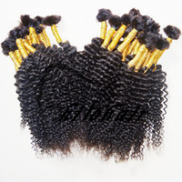 Wholesale Kilo hair india deep curly hair AAAA grade bundles indian hair braiding bulk buy from china human hair