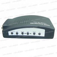 Wholesale High quality Cheap CCTV TV BNC S Video Compositive To VGA PC Converter adapter LLY10