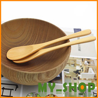 Wholesale Baby Spoon Wood Janpan And South Korea Style No Disposable Free Shiping Flatware Accessory