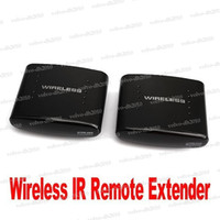 Wholesale M GHz Wireless A V TV Infraed Transmitter amp Receiver IR Remote Extender LYY12