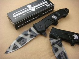 Wholesale Hot sale EXTREMA RATIO MF2 COL MOSCHIN CR13MOV HRC Favorites knife Tigrina Small knife Blade Xmas gift