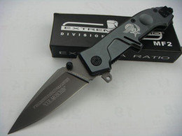 Hot sale! EXTREMA RATIO MF2 X02 440C 57HRC Assist Folding knife Hunting Fighting Knives Xmas gift