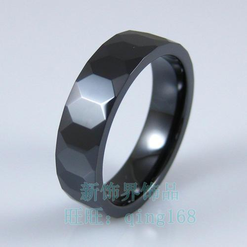 New High Tech Ceramic Ring Black Decoration Sector Space Rings ...