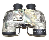 Wholesale Tactical Gear Military x50 Navy Binoculars With Rangefinder and Compass Reticle Illuminant Camo Color