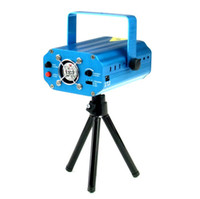 Wholesale New Aluminum Alloy Projector Holographic Laser Star Stage DJ Lighting H2006