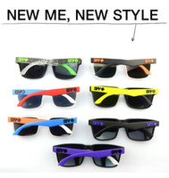 Wholesale 2013 hot sale Fashion Mens Spy Eyewear Retro Personalized Sunglasses Styles to Choose