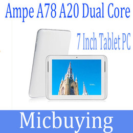 "Hot Item AMPE A78 Android 4.2 Allwinner A20 Dual Core 7"" IPS Screen Android Tablet PC 1GB 8GB Dual Camera HDMI Hot Sale"