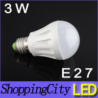 3W AC85- 265V E27 B22 led lamps bulb warm white bulbs SMD2936...