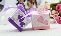 Wholesale New Arrival Romantic Wedding Hollow Heart Shaped Candy Box Wedding Favors Favor Holders Hot Selling