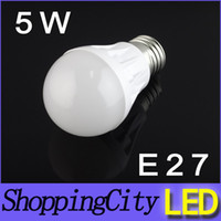 good quanlity 5W AC85- 265V E27 B22 led lamps bulb warm white...