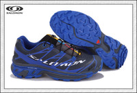 Wholesale Salomon S Lab Sense Mens Trail Running Shoes Cheap Mens Hiking Shoes Blue Black Sneakers Hot Sale Mens Sports Shoes Durable Comfy Shoes