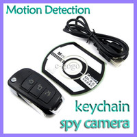 Wholesale Mini dvr HD p M Car Key camera Video Recorder x1080P spy car keychain gentle style mini camera motion detection
