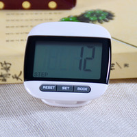 Wholesale Multi Function LCD Screen Step Calorie Counter walking motion tracker Run Distance Pedometer