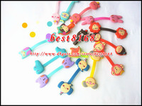 Wholesale Cable Winder Earphone Cable Manager Organizer cartoon romane the forest giraffe rabbit bear rilakkuma holder wrap retail package