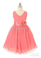 Wholesale 2013 New Style Custom Made Flower Girl Dresses