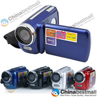 Wholesale 4 Colors DV139 video digital camera Max MP quot inch TFT LCD X Zoom MP with LED Flash Light Camcorder Mini DV Gift
