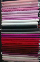 Wholesale Silk Fabric Chiffon Material For Silk Dress Skirt Scarf Mix colors