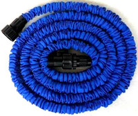 Wholesale 25FT FT FT HOSE Expandable amp Flexible Water Gardening hose pipe flexible water Blue and Green Colors Brand New AAAAA