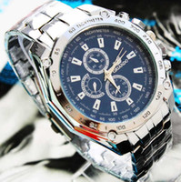 Casual Men's Water Resistant Watches classic polished silver band wrist watch alloy metal Mechanical watch mens watch luxury cheap watches top quality