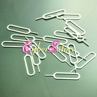 Wholesale iphone s Metal SIM Card Pin Eject Pin Tool for iphone5 plus G GS S S