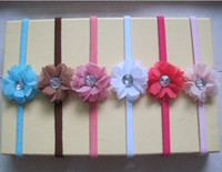Cheap hairband hair ornamenthair bows baby's crochet headbands hair clips hair accessories flowers