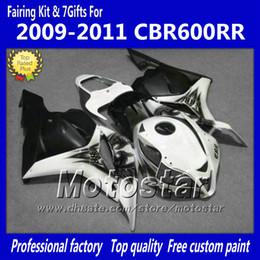 Wholesale 7 Gifts injection molding fairings body kit for HONDA CBR600RR F5 CBR RR white black custom fairing set kk67