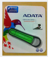 Wholesale free DHL ADATA S007 GB USB Flash Memory Pen Drive Stick Drives Sticks Pendrives Thumbdrive Disk for dv4 TX C9M11PA Envy TX B