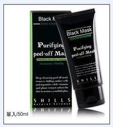 Wholesale Shills Peel Off Facial Mask Black Mud Facial Mask Deep Cleansing Mask Purifying Facial Mask