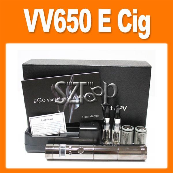 VAMO VV650 V2 Electronic Cigarette with 2 18350 E Cigarette Batteries ...