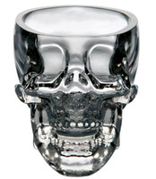 Wine Glass bar ware - Home Bar Drinking Ware Crystal Skull Head Vodka Whiskey Shot Glass Cup SKull Mugs