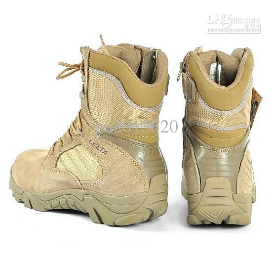 Delta Desert Boots Men's Military Police Tactical Mountain Hiker ...