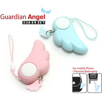 Wholesale Angel Wing personal safety alarm Guardian women anti rape self protection alarm device anti theft anti lost alarm