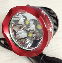 New Arrival,Excellence 3T6 3X CREE XM-L T6 3800Lm LED Headlamp head flashlight headlight flashlight torch lamp+6600mAh Battery Pack