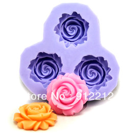 Free shipping F0130 silicone resin flower polymer clay flower mold chocolate mold cake decorating candy mold soap mold