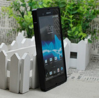Cheap FREE SHIPPING Black Luxury Aluminum Metal Bumper Case Cover Cleave For Sony Xperia Z L36H