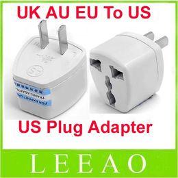 Lowest Price 300pcs lot Universal World Travel Current UK   AU   EU to US AC Power Plug Travel Adapter