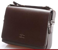 Wholesale 2013 Kangaroo man bag shoulder bag Messenger bag fashion leisure bag