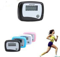 Wholesale Lowest price New Digital Pocket LCD Pedometer Mini Step Counter Single Function