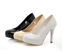 Cheap Super cheap , 2013 new Korean version of women's high heels , white patent leather high heels, wedding shoes , bridal shoes , free shipping