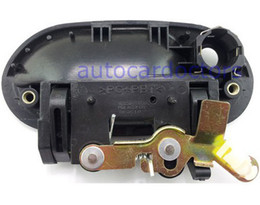 Wholesale Fit For Hyundai Accent Outside outer Door Handle Front Left Black NEW