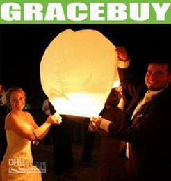 Wholesale Kongmingdeng Chinese Fay Balloon Wishing Lamp Paper Sky Candle Xmas Wedding Flying Party Lanterns