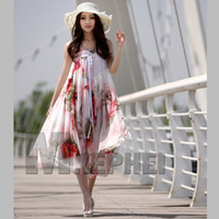Chiffon Strapless Ankle Length Hot Fashion ladies maxi dress Boho Bohemian Chiffon dress summer strapless dress girl's skirts printed dress sexy party dresses