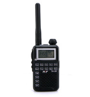 Wholesale Walkie Talkie UHF TH R W CH Portable Two Way Radio New Black A0802A