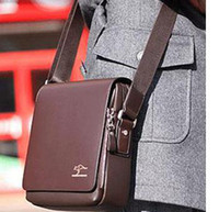 Wholesale Kangaroo leather man bag men s business casual leather shoulder Messenger Bag