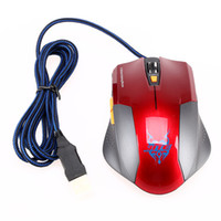 Wholesale Adjustable D Buttons Laptop PC DPI Optical USB Wired Gaming Game Mouse Mice