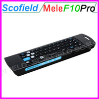 3 in 1 Built- in Rechargeable Lithium  MELE F10 PRO 2.4GHz Air Mouse Built in lithium battery Wireless Keyboard Intelligent Voice IR Remote Control for Universal PC TV BOX