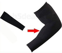 Wholesale Basketball Sport Stretch Shooting Arm Sleeve Black