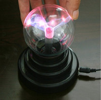 Wholesale Plasma Ball Light Lightning Sphere Party USB Operated Christmas gift Hot sell H094