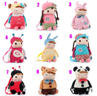 Wholesale Metoo child school bag angela plush doll girl backpack cartoon baby bag many type for choosing